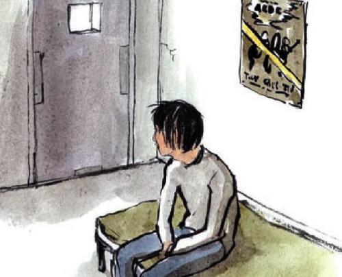 barn i fengsel